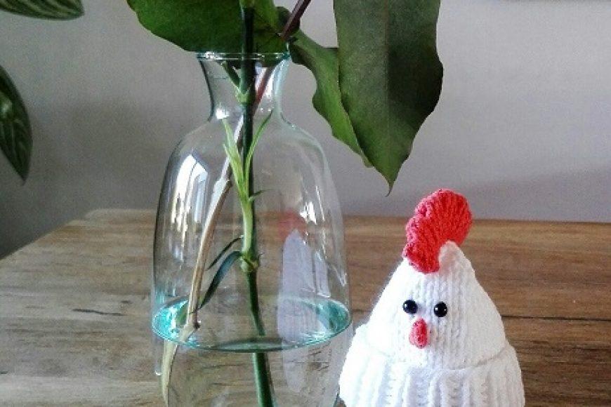 Gebreide eiermutsjes, leuk voor Pasen