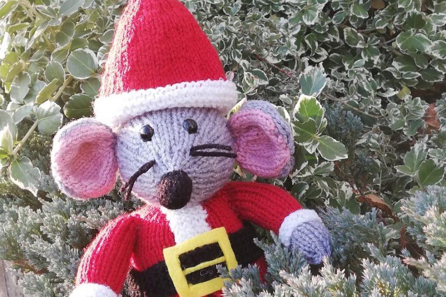Breien voor de Kerst: Timmy de Kerstmuis